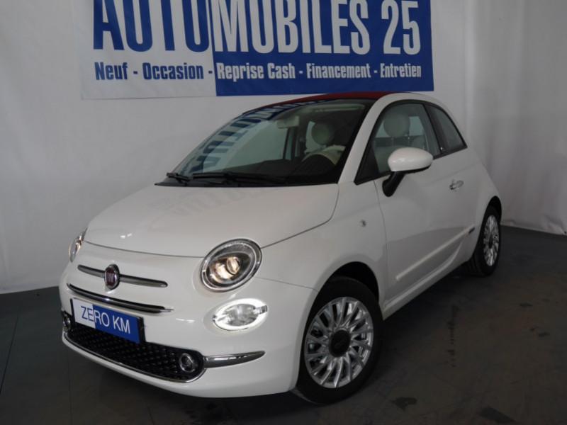 Fiat 500C 1.0 70CH BSG S&S LOUNGE Hybride - 24 % Hybride BOSSA NOVA WHITE Neuf à vendre