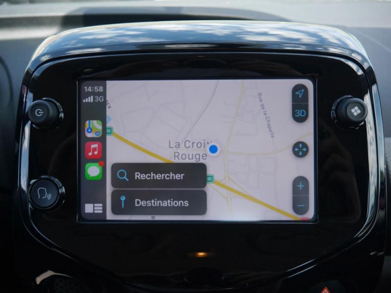 Photo 10 de l'offre de PEUGEOT 108 VTI 72 ALLURE S&S 5P à 10900€ chez Automobiles 25