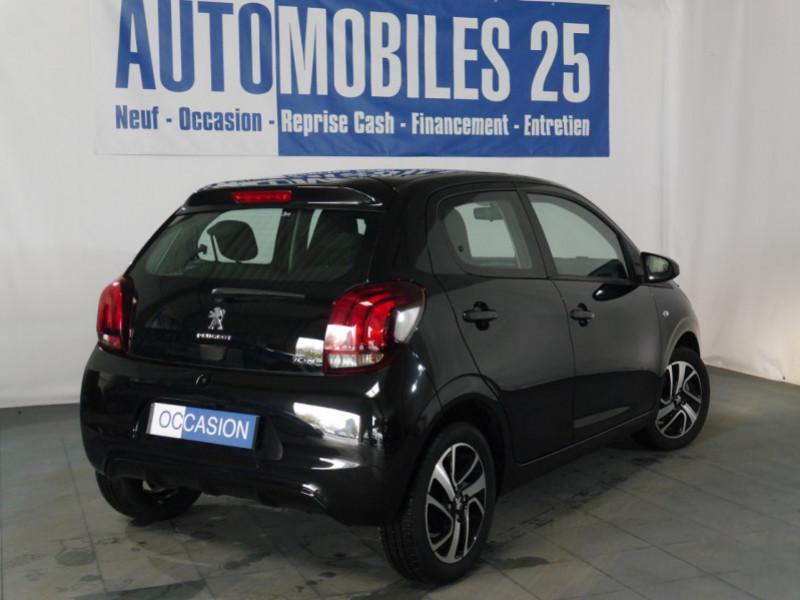 Photo 2 de l'offre de PEUGEOT 108 VTI 72 ALLURE S&S 5P à 10900€ chez Automobiles 25