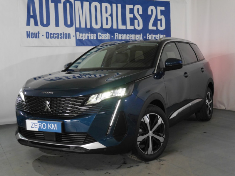 Peugeot 5008 1.5 BLUEHDI 130CH S&S ALLURE PACK EAT8 - 18 % Diesel BLEU CÉLÉBES Neuf à vendre