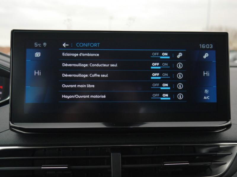 Photo 14 de l'offre de PEUGEOT 5008 1.5 BLUEHDI 130CH S&S ALLURE PACK EAT8 - 14 % à 37995€ chez Automobiles 25