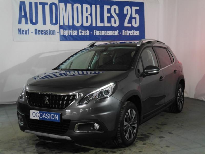 Peugeot 2008 1.2 PURETECH 82CH E6.C ALLURE Essence GRIS PLATINIUM Occasion à vendre