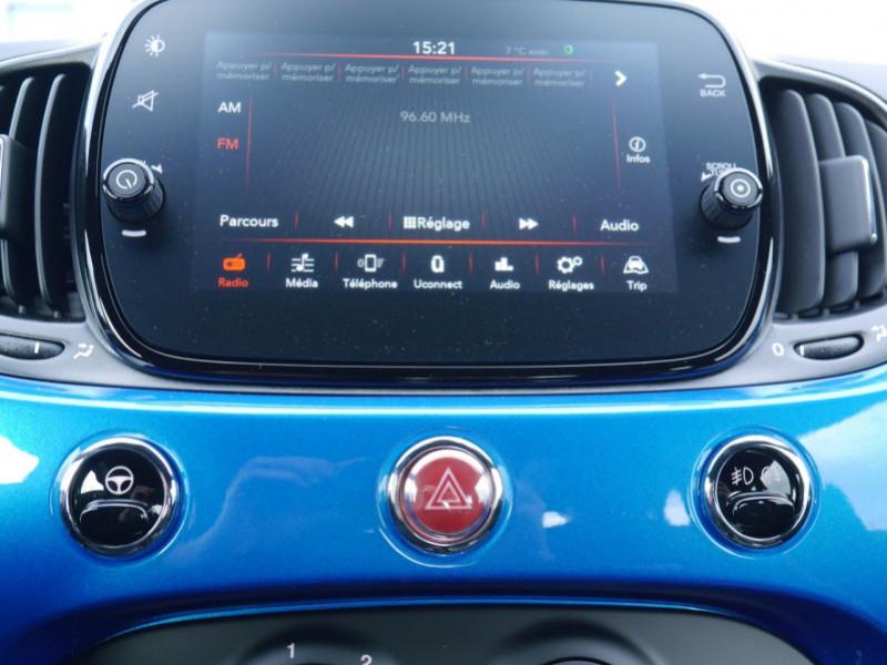 Photo 6 de l'offre de FIAT 500 1.2 8V 69CH S&S SPORT   DUALOGIC - 27 % à 13680€ chez Automobiles 25