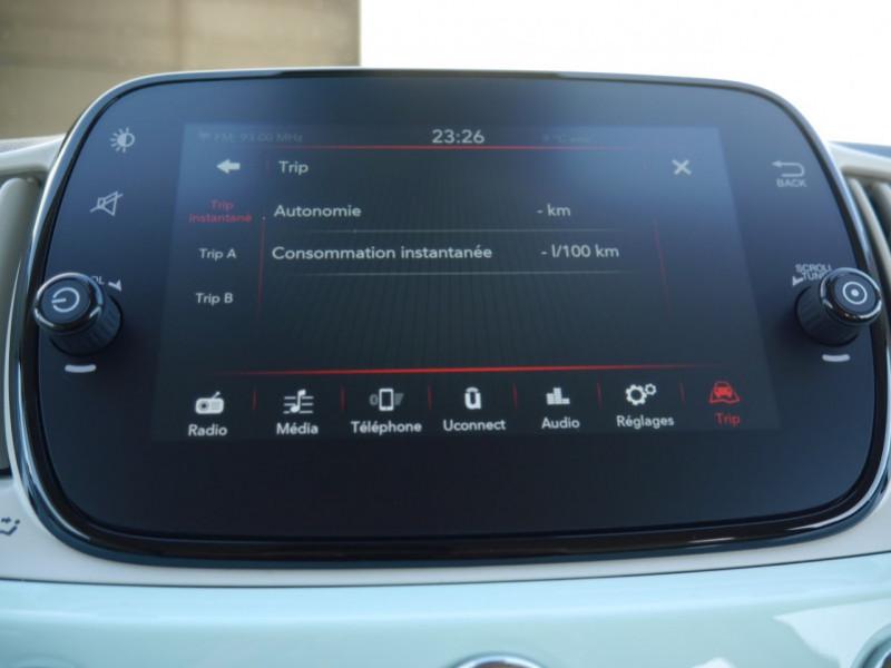 Photo 14 de l'offre de FIAT 500C 1.0 70CH BSG S&S LOUNGE Hybride - 29 % à 14995€ chez Automobiles 25