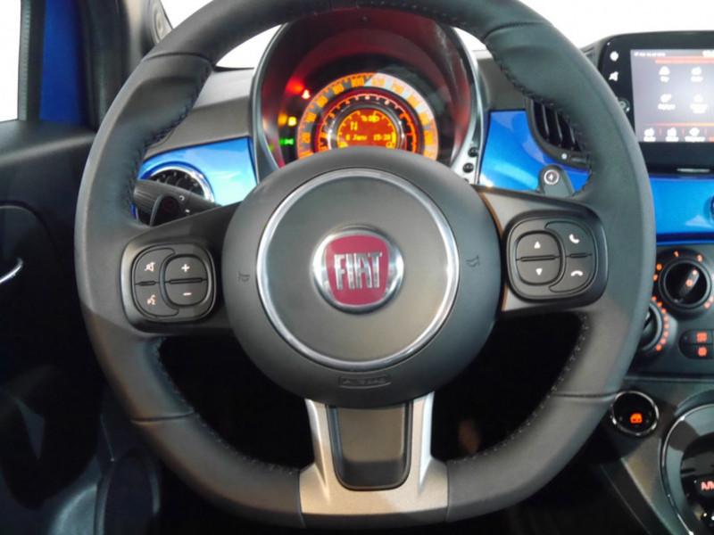 Photo 5 de l'offre de FIAT 500 1.2 8V 69CH S&S SPORT   DUALOGIC - 27 % à 13680€ chez Automobiles 25
