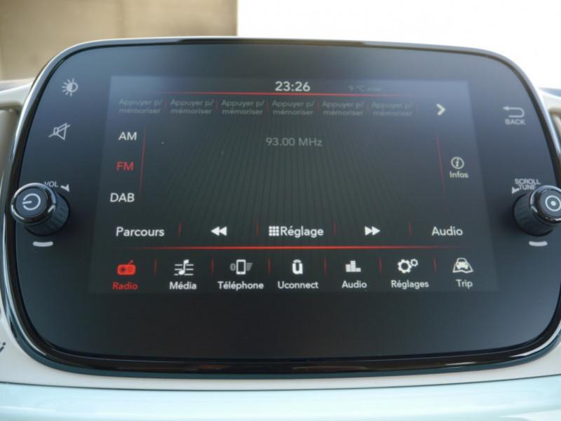 Photo 8 de l'offre de FIAT 500C 1.0 70CH BSG S&S LOUNGE Hybride - 29 % à 14995€ chez Automobiles 25