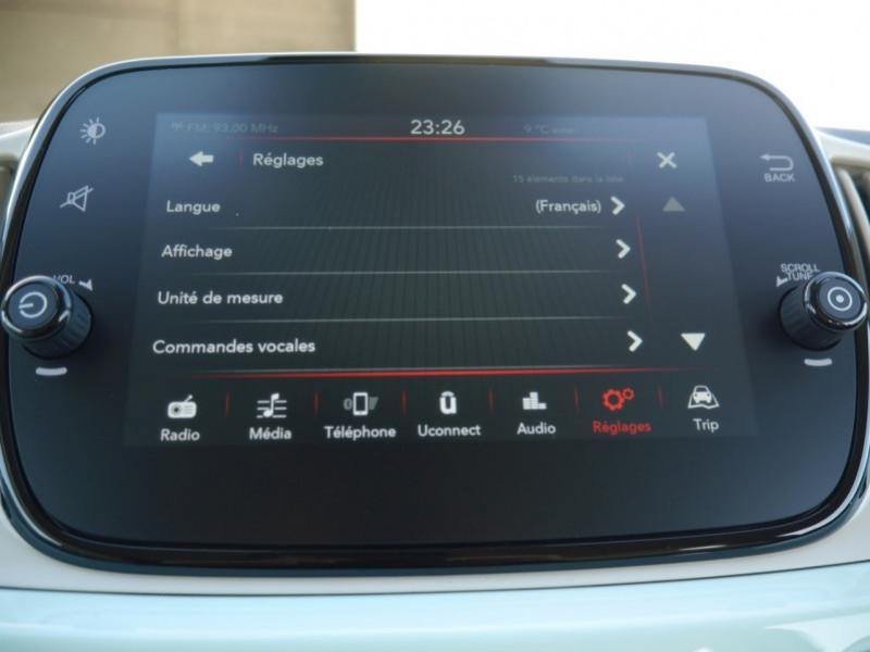 Photo 13 de l'offre de FIAT 500C 1.0 70CH BSG S&S LOUNGE Hybride - 29 % à 14995€ chez Automobiles 25