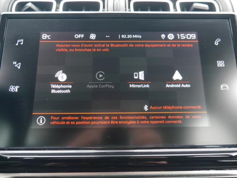 Photo 9 de l'offre de CITROEN C3 1.2 PURETECH 110CH S&S SHINE EAT6 à 16480€ chez Automobiles 25