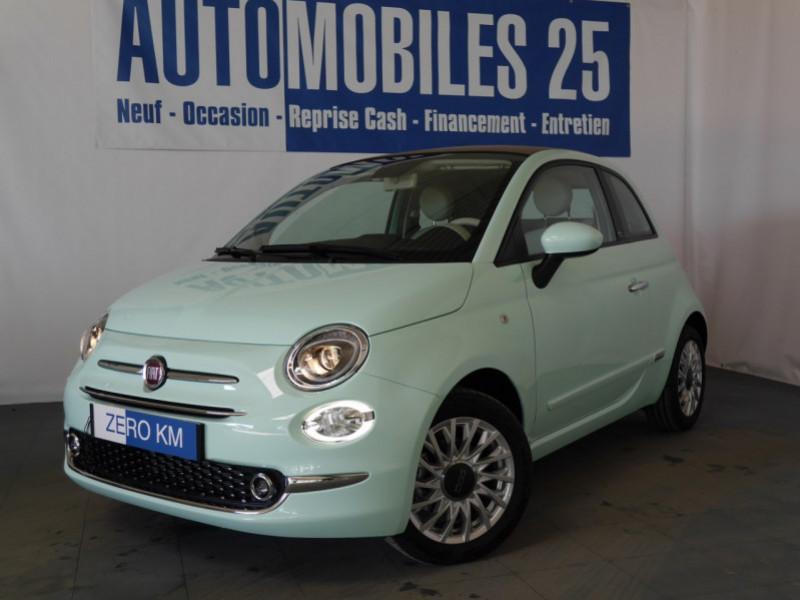 Photo 1 de l'offre de FIAT 500C 1.0 70CH BSG S&S LOUNGE Hybride - 29 % à 14995€ chez Automobiles 25