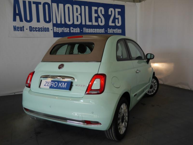 Photo 2 de l'offre de FIAT 500C 1.0 70CH BSG S&S LOUNGE Hybride - 29 % à 14995€ chez Automobiles 25
