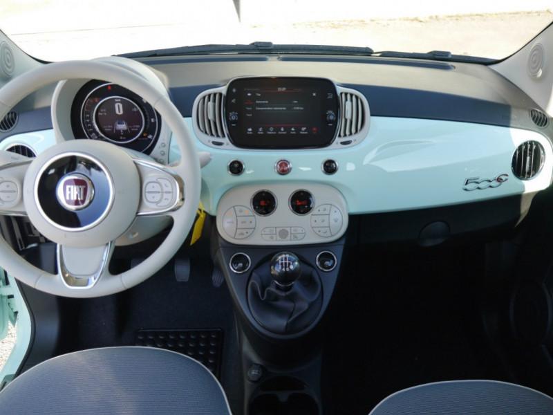 Photo 5 de l'offre de FIAT 500C 1.0 70CH BSG S&S LOUNGE Hybride - 29 % à 14995€ chez Automobiles 25
