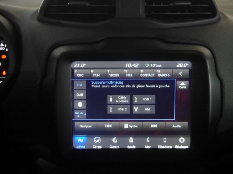 Photo 9 de l'offre de JEEP RENEGADE 1.0 GSE T3 120CH LIMITED à 17900€ chez Automobiles 25