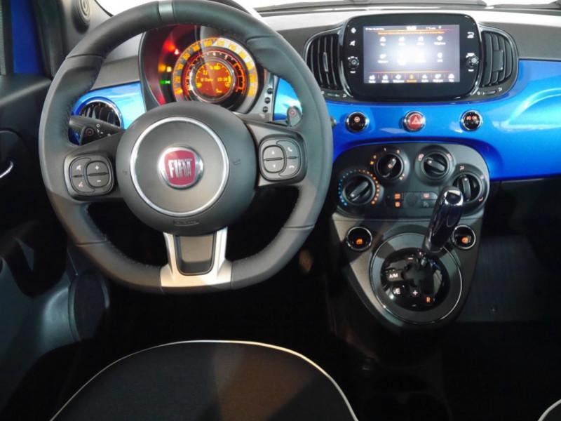 Photo 3 de l'offre de FIAT 500 1.2 8V 69CH S&S SPORT   DUALOGIC - 27 % à 13680€ chez Automobiles 25