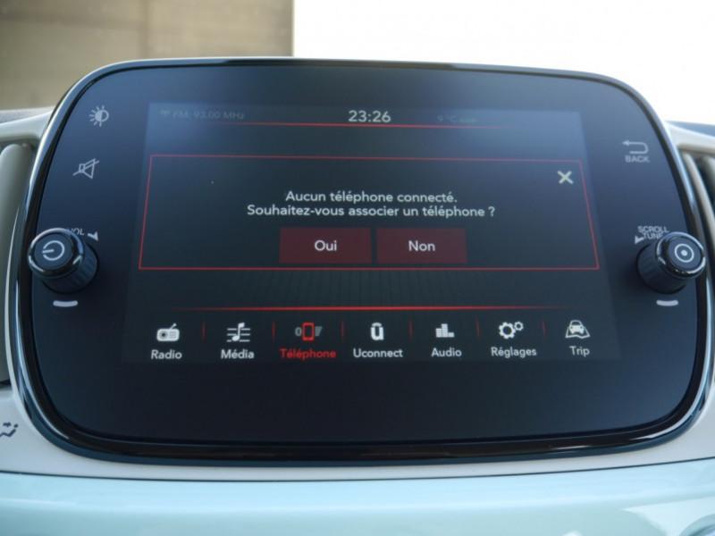 Photo 10 de l'offre de FIAT 500C 1.0 70CH BSG S&S LOUNGE Hybride - 29 % à 14995€ chez Automobiles 25