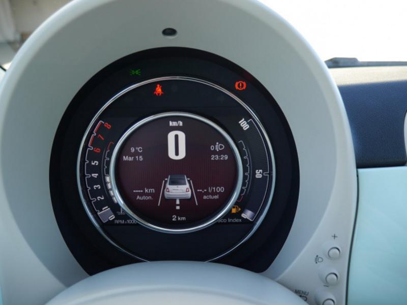 Photo 7 de l'offre de FIAT 500C 1.0 70CH BSG S&S LOUNGE Hybride - 29 % à 14995€ chez Automobiles 25