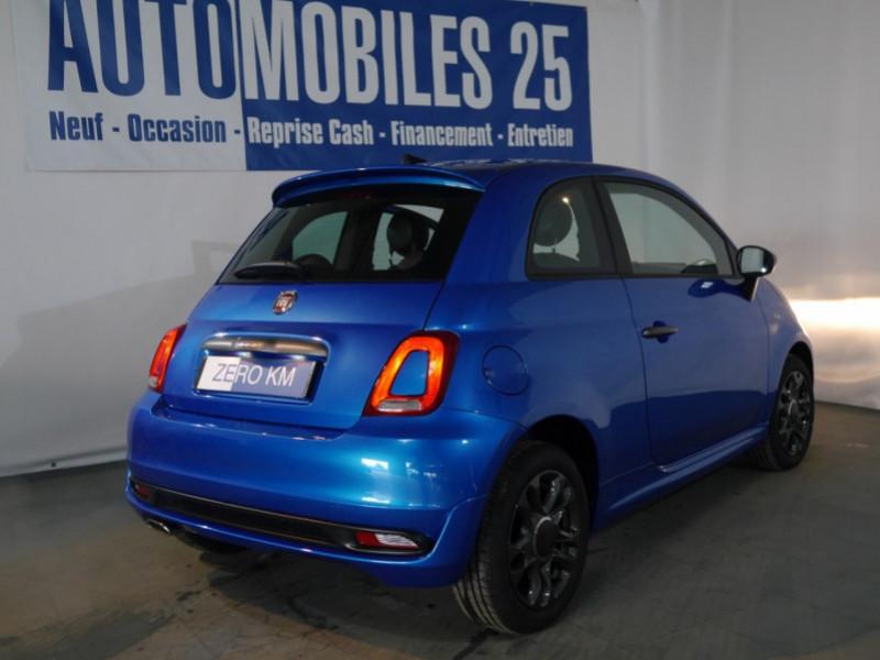 Photo 2 de l'offre de FIAT 500 1.2 8V 69CH S&S SPORT   DUALOGIC - 27 % à 13680€ chez Automobiles 25