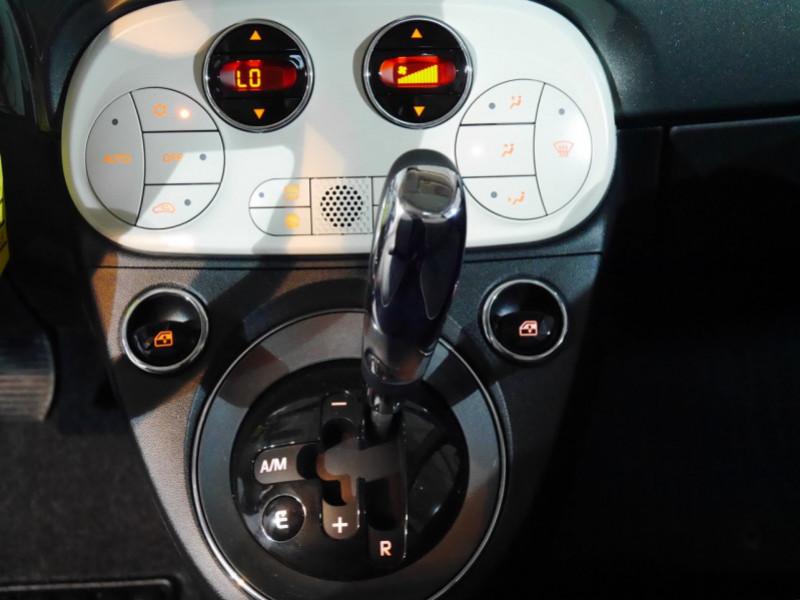 Photo 8 de l'offre de FIAT 500 1.2 8V 69CH S&S LOUNGE  DUALOGIC - 27 % à 13680€ chez Automobiles 25