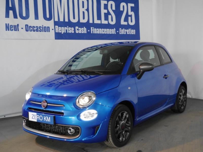 Fiat 500 1.2 8V 69CH S&S SPORT   DUALOGIC - 27 % Essence ITALIA BLUE Neuf à vendre