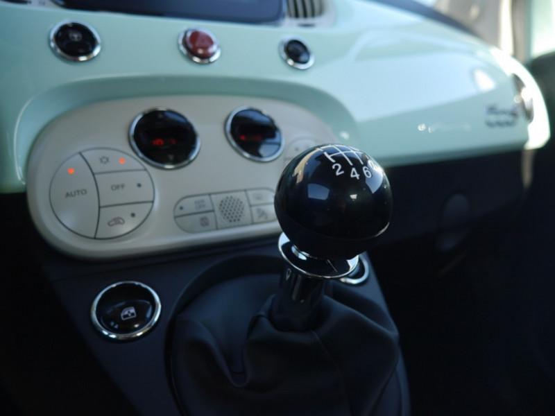 Photo 15 de l'offre de FIAT 500C 1.0 70CH BSG S&S LOUNGE Hybride - 29 % à 14995€ chez Automobiles 25