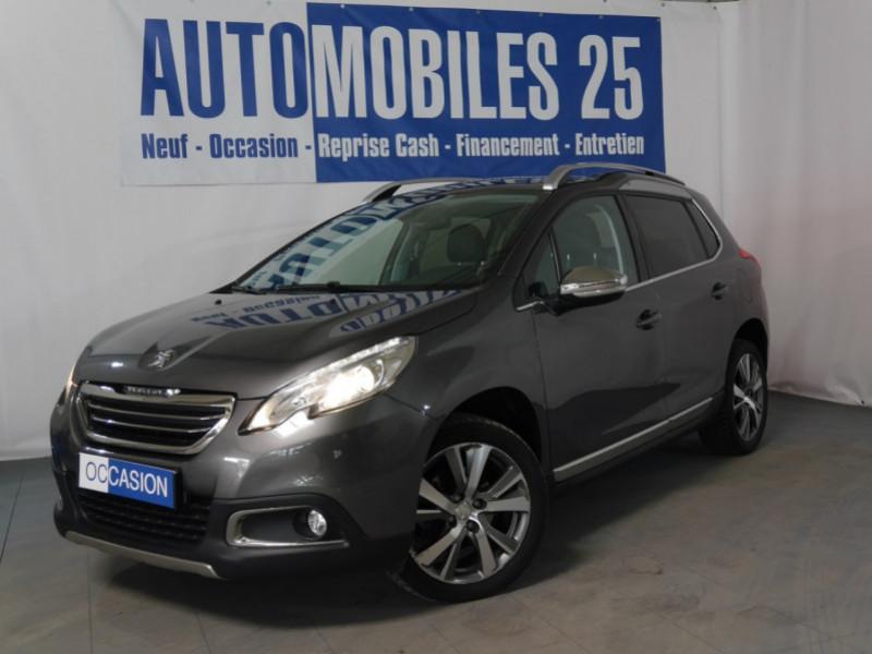 Peugeot 2008 1.6 E-HDI115 FAP FELINETITANE Diesel GRIS PLATINIUM Occasion à vendre