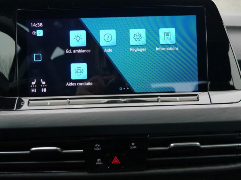 Photo 9 de l'offre de VOLKSWAGEN GOLF VIII 1.5 ETSI OPF 150CH  STYLE 1ST DSG7 - 25 % à 29995€ chez Automobiles 25
