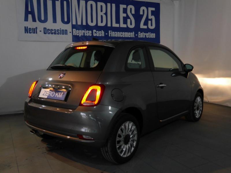 Photo 2 de l'offre de FIAT 500 1.2 8V 69CH S&S LOUNGE  DUALOGIC - 27 % à 13680€ chez Automobiles 25