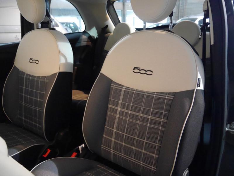 Photo 4 de l'offre de FIAT 500 1.2 8V 69CH S&S LOUNGE  DUALOGIC - 27 % à 13680€ chez Automobiles 25