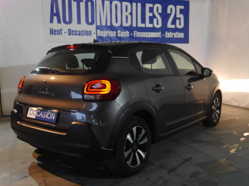 Photo 2 de l'offre de CITROEN C3 1.5 BLUEHDI 100CH S&S FEEL à 15480€ chez Automobiles 25