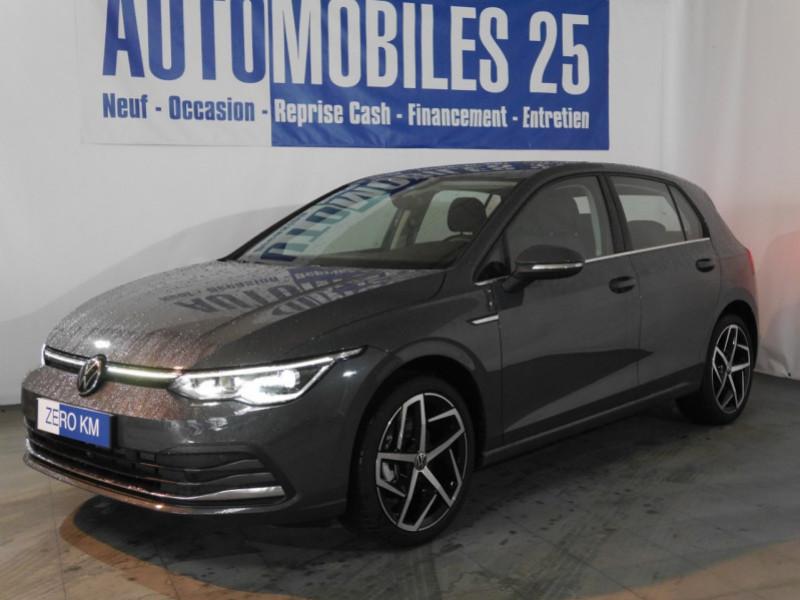 Volkswagen GOLF VIII 1.5 ETSI OPF 150CH  STYLE 1ST DSG7 - 22 % Essence GRIS DAUPHIN Neuf à vendre
