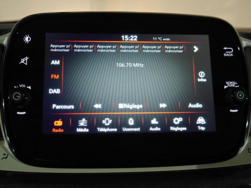 Photo 6 de l'offre de FIAT 500C 1.0 70CH BSG S&S LOUNGE Hybride - 29 % à 14995€ chez Automobiles 25