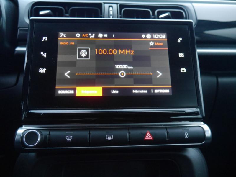Photo 6 de l'offre de CITROEN C3 1.5 BLUEHDI 100CH S&S FEEL à 15480€ chez Automobiles 25
