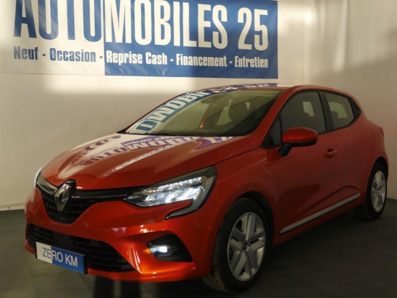 Renault CLIO V 1.0 TCE 100CH ZEN - 23 % Essence ORANGE VALENCIA Neuf à vendre