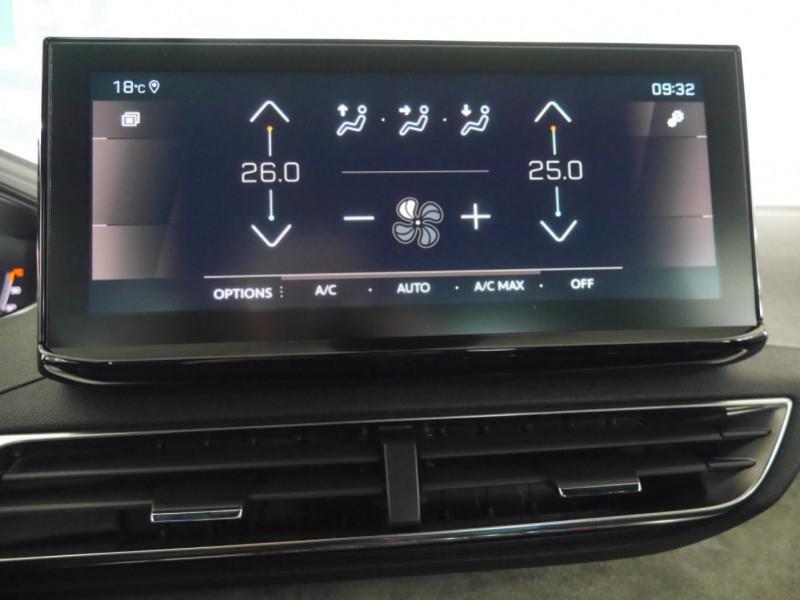 Photo 9 de l'offre de PEUGEOT 3008 1.5 BLUEHDI 130CH S&S GT EAT8 - 17 % à 37495€ chez Automobiles 25