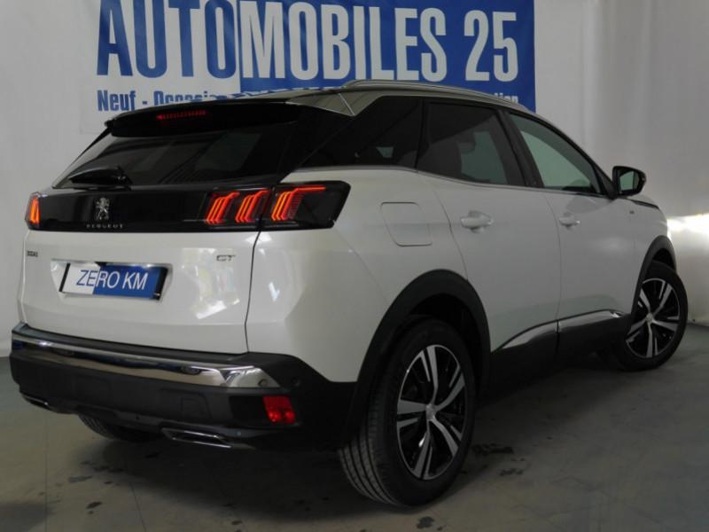 Photo 2 de l'offre de PEUGEOT 3008 1.5 BLUEHDI 130CH S&S GT EAT8 - 16 % à 37695€ chez Automobiles 25