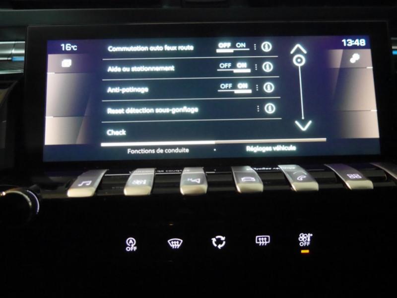 Photo 12 de l'offre de PEUGEOT 508 SW BLUEHDI 130CH S&S GT EAT8 -27% à 32995€ chez Automobiles 25