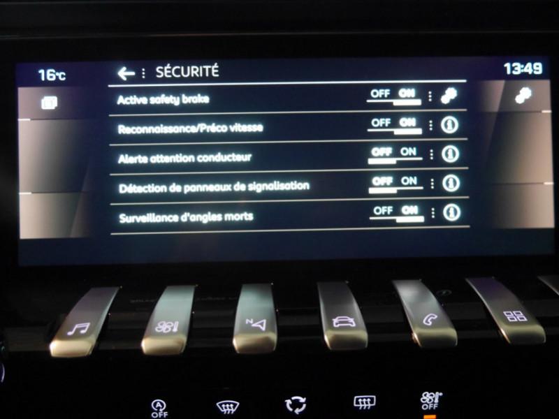 Photo 14 de l'offre de PEUGEOT 508 SW BLUEHDI 130CH S&S GT EAT8 -27% à 32995€ chez Automobiles 25