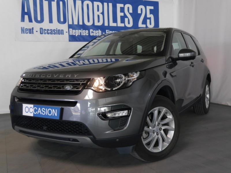 Land-Rover DISCOVERY SPORT 2.0 TD4 150CH AWD SE BVA MARK II Diesel GRIS CORRIS Occasion à vendre