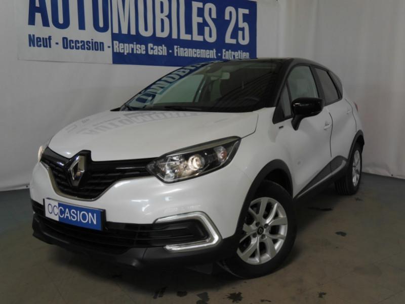 Renault CAPTUR 1.5 DCI 90CH ENERGY ZEN EURO6C Diesel BLANC NACRE/TOIT NOI Occasion à vendre