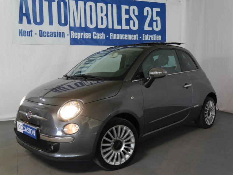 Fiat 500 1.2 8V 69CH LOUNGE Essence ELECTROCLASH GREY Occasion à vendre