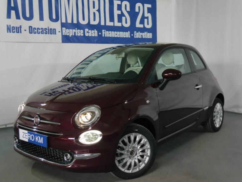 Fiat 500 1.2 8V 69CH ECO PACK LOUNGE EURO6D - 29 % Essence OPERA BORDEAUX Neuf à vendre