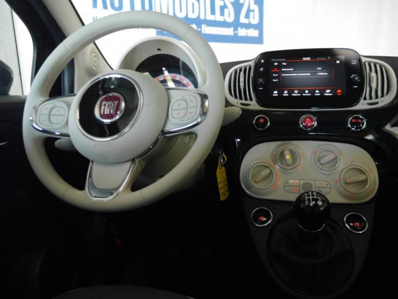 Photo 13 de l'offre de FIAT 500 1.2 8V 69CH ECO PACK  LOUNGE - 26 % à 12995€ chez Automobiles 25