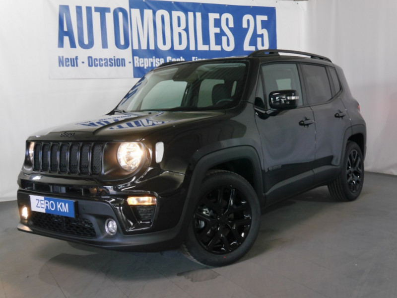 Jeep RENEGADE 1.0 GSE T3 120CH LIMITED MY21  - 26 % Essence CARBON BLACK Neuf à vendre