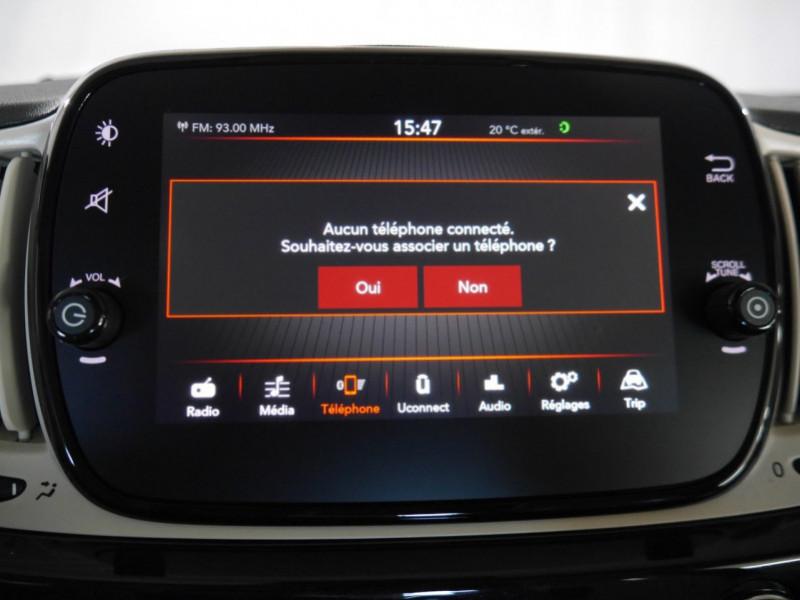 Photo 10 de l'offre de FIAT 500 1.2 8V 69CH ECO PACK  LOUNGE - 26 % à 12995€ chez Automobiles 25