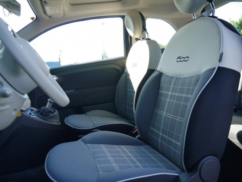 Photo 4 de l'offre de FIAT 500 1.2 8V 69CH ECO PACK  LOUNGE - 26 % à 12995€ chez Automobiles 25