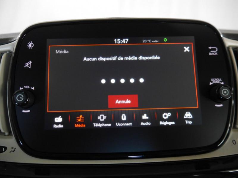 Photo 9 de l'offre de FIAT 500 1.2 8V 69CH ECO PACK  LOUNGE - 26 % à 12995€ chez Automobiles 25