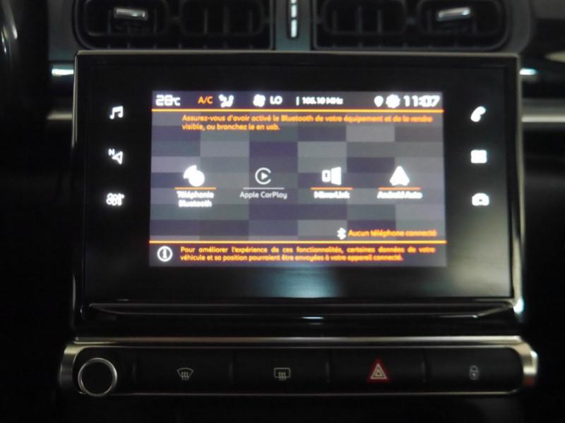 Photo 10 de l'offre de CITROEN C3 1.5 BLUEHDI 100CH S&S FEEL à 15480€ chez Automobiles 25