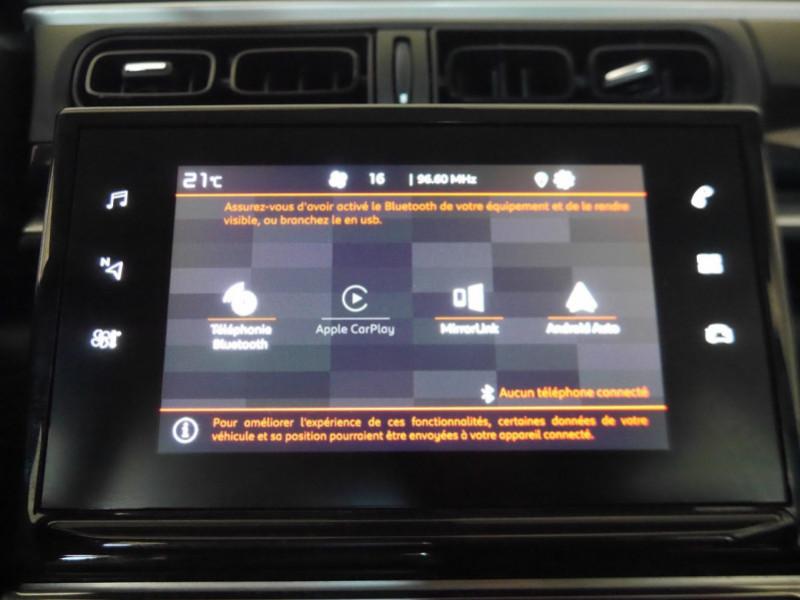 Photo 11 de l'offre de CITROEN C3 1.5 BLUEHDI 100CH S&S FEEL à 15480€ chez Automobiles 25