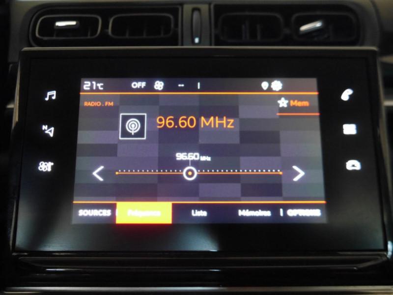 Photo 8 de l'offre de CITROEN C3 1.5 BLUEHDI 100CH S&S FEEL à 15480€ chez Automobiles 25