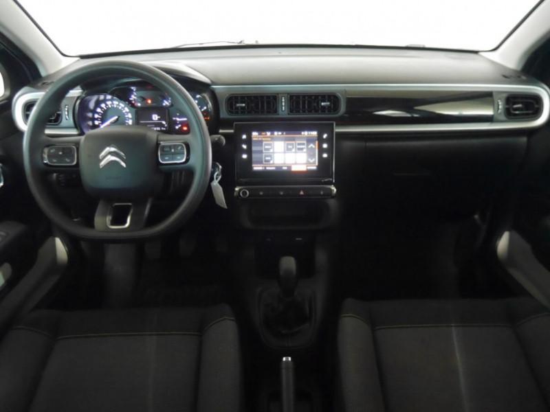 Photo 3 de l'offre de CITROEN C3 1.5 BLUEHDI 100CH S&S FEEL à 15480€ chez Automobiles 25