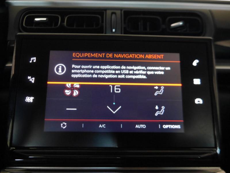Photo 9 de l'offre de CITROEN C3 1.5 BLUEHDI 100CH S&S FEEL à 15480€ chez Automobiles 25